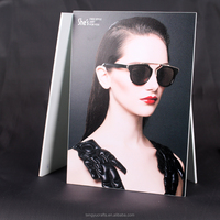 custom factory direct A4 A5 A6 stand Christmas slanted acrylic 8x10 magnetic paper photo frame
