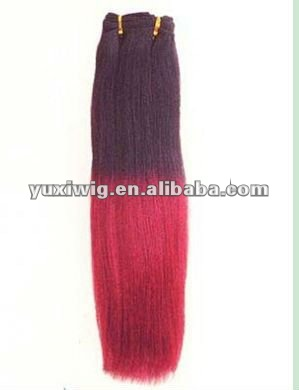 most beautiful mixed color hair weave extensions