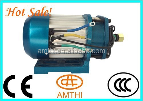 brushless DC motor for electric car/eletric motorcycle BLDC motor 48v/72v 3000w,Amthi