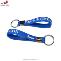 Bulk cheap promitional bracelet men,personalized debossed plane silicon keychain,silicone key chain