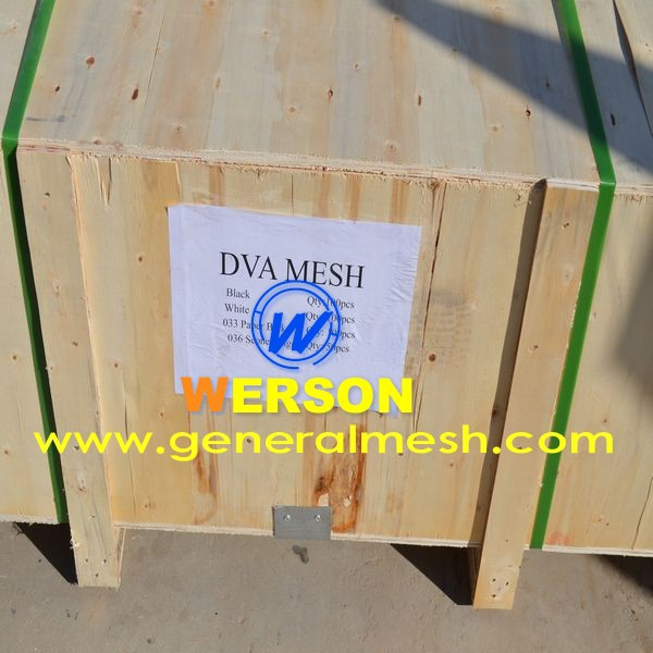 1.8mm thick DVA one way vision mesh for door