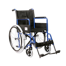 Durable wheelchair fixed armrest and leg support wheel chairs