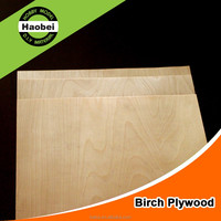 2016 China top factory customers best quality Birch wood plywood