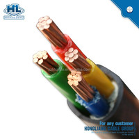 Power and signal cable 0.6/1 kV PVC insulated and sheath NYY power cable