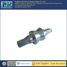 High precision cnc turning aluminium 6061 T6 shaft with <strong>holes</strong> auto parts