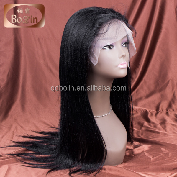 Qingdao Hair factory manufacturer huge stock best quality private label wigs 120% density full lace wig