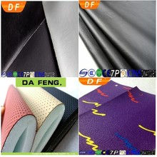 So Hot and Popular Glitter PVC Synthetic Artificial Leather