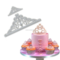 TANGCHU2017 Newest Cookie Cutter Imperial Crown Shape Fondant Mould Plastic Cut Mold DIY Cake Decoration Baking Tool