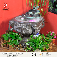 China Factory Stone Garden Water Fountains With Pump for Decortaion