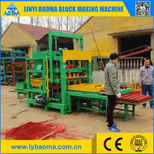 QT4-25B cement sand hollow block making machines