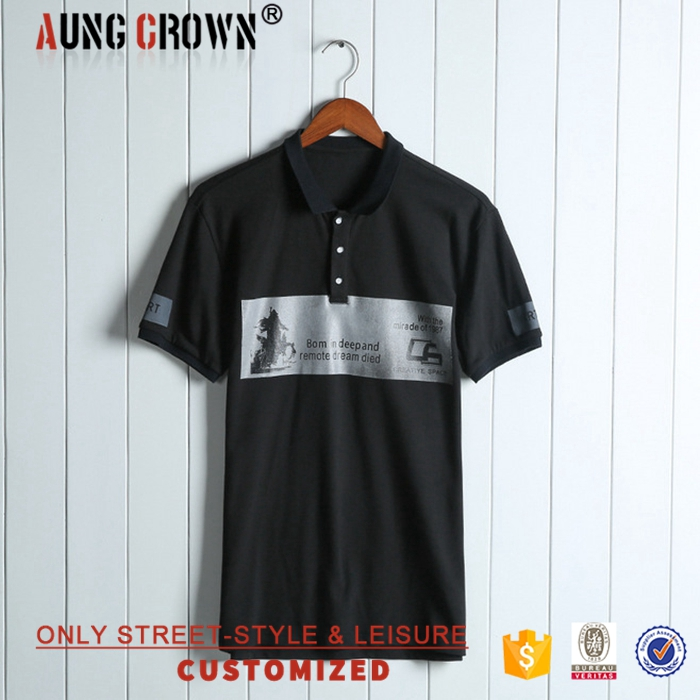 Wholesale Men Cheap Custom Printing Polo Shirt