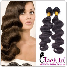5A Grade 4 Pcs Body Wave 100% Unprocessed Virgin Brazilian Hair Extension