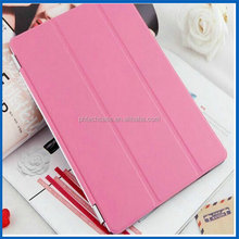 Leather Case for Apple iPad 2/3/4 Retina Slim Tri-Fold PU Leather Sleeve Tablet Cover