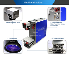 Metal engraving machine cattle ear tag printing machines cheap price for sale
