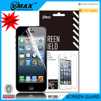 Factory price cell phone accessories Anti-fingerprint screen potector for iPhone5 OEM/ODM