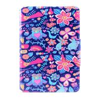 iPad Mini 2 Mini 1 Flower Design Flip Wallet Case