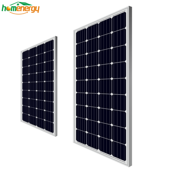Bluesun 190w 18v monocrystalline solar panel pv module specification