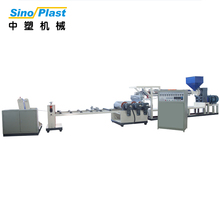 SINOPLAST China Manufacture 55KW Motor Power Plastic Foaming Sheet Extruder Single Screw Extrusion