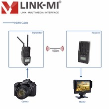 LM-WHD100 100m Audio Video USB Long Range Wireless HD AV HDMI Transmitter and Receiver Kit