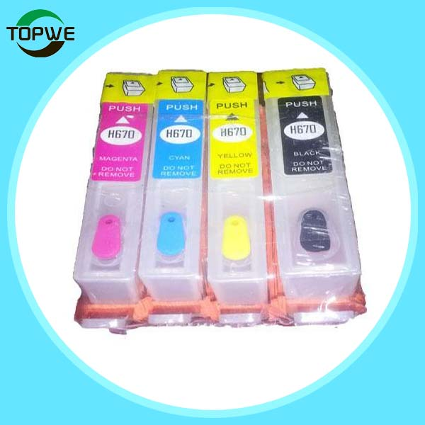 685 refillable ink cartridge for HP Deskjet 3525