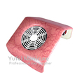 nail dust collector extractor fan nail technician table top faux leather