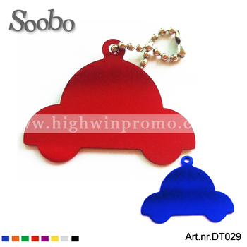 Anodized Car Shaped Pet Tag/Pet Jewelry