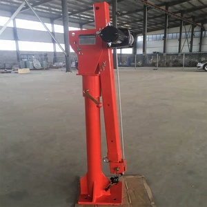 360 Degree 500kg12V Electric Portable Hydraulic Pickup Crane Small Truck Mounted Crane