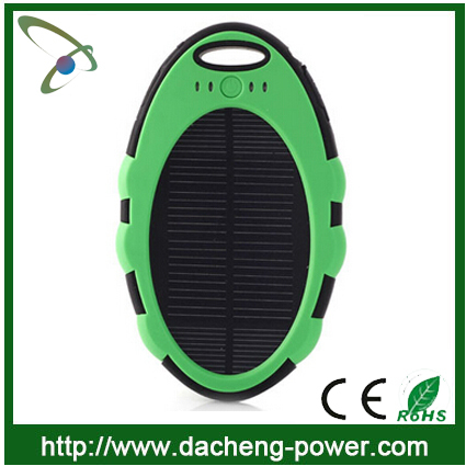 5000 mah portable solar panel charger solar sun charger mobile