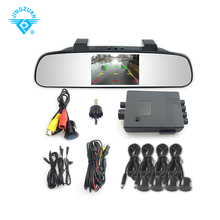 TFT Rearview Mirror Parking Sensor kit