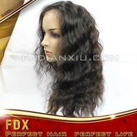 grade 5A full lace wig. unprocessed machine