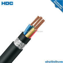 Flam retardant pvc sheath tinned copper wire braided screen LIYCY control cable