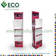 paper display stand unit for battery , cardboard display units , point of sales display units