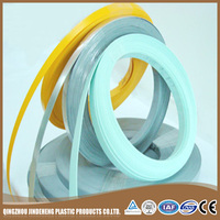 2mm glossy clear plastic export pre-glued wood grain Pvc edge banding tape for furniture kitchen cabinet