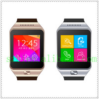 2014 New Smart Watch Phone with Capacitive touch Latest Wrist Watch Mobile Phone Pedometer Sleep Monitor TF Card Slot