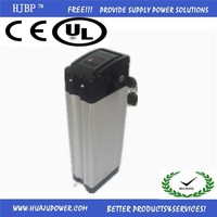 2015 hot sale silver fish type 36v 8ah li-ion battery pack for electric bicycle/scooter /motorcycle