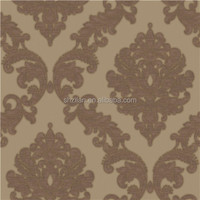 Most popular PVC glass decoration wallpaper for home hotel walls decoration