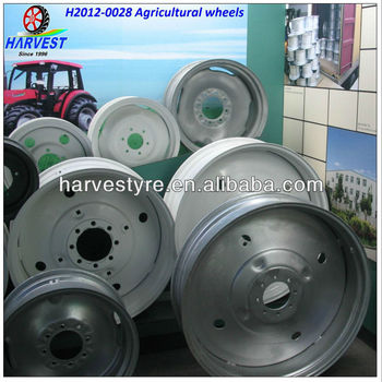 Irrigation system wheels