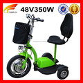 3 Wheel 350w Electric Scooter for Elderly