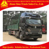 Sino Howo A7 8x4 Cargo Truck Vehicle for sale