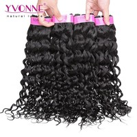 Yvonne grade 5A italian curl virgin brazilian hair extension