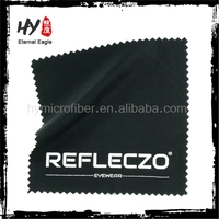 Brand new printed microfibra cleaning cloth, microfiber lens cleaning cloth