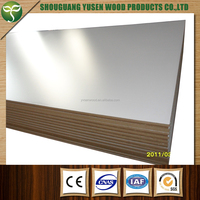 direct from factory fine price 16mm melamine white mdf from china