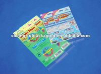 BOPP/PE plastic Header Bags pack for Office appliance or daily appliance.