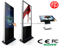 Stand Alone LCD Advertising Digital Signage Touch Sreen Video Display