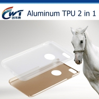 Best quality metal aluminum mobile phone vogue case for iphone6