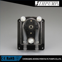 Jihpump 304K Silicone Tubing Peristaltic Pump with Quick Install Panel
