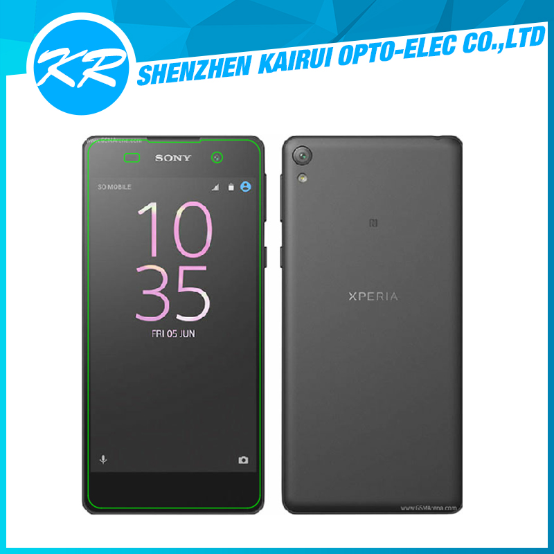 2016 New Arrival High Quality Mobile phone tempered glass screen protector for sony xperia E5