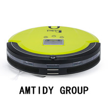 Amtidy LCD Screen A320 portable robot vacuum cleaners,cordless remote controller auto cleaning