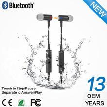 Professional waterproof sport v4.1 csr wireless bluetooth headset for iphone