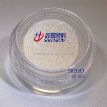 Interferece pearlescent pigments SB2033 mica flakes Raw Material